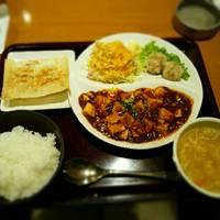 ワンプレートランチ麻婆豆腐