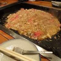 トマトもんじゃ+ひき肉+チーズ