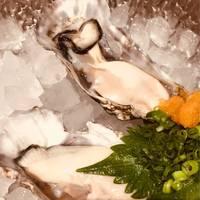 歌舞伎町で念願の牡蠣!!