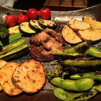 炭火焼き野菜