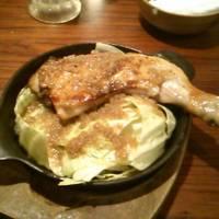 骨付き熟成鶏のがぶり焼き