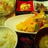 ぷりぷり海老と旬菜のタルタルマヨ ランチ
