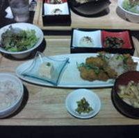 お昼のカラアゲ定食