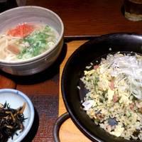 島チャーハンとミニ沖縄そば定食