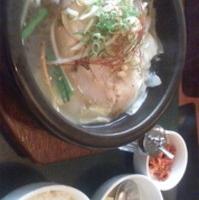シジャン風 参鶏湯セット