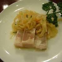 上海式クラゲと中国ハムの冷菜