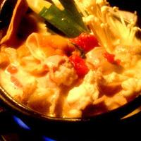 豆乳トンコツのモツ鍋