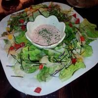 山芋と明太子の和風サラダ