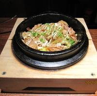 石焼ジュージュー豚生姜焼き飯