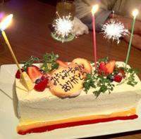 送別会のケーキ