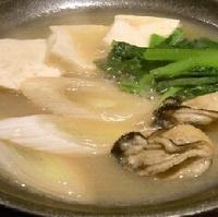 陶板焼き牡蠣豆腐