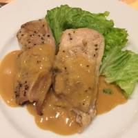 若鶏のソテー、クリーミーテリヤキソース