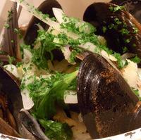 ムール貝料理各種