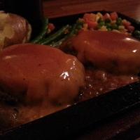 ダブルチーズハンバーグ