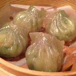 海鮮翡翠餃子