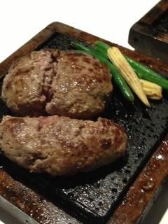 濃厚 牛100%ハンバーグステーキ