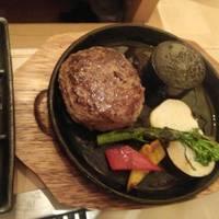 つる次郎特製ハンバーグステーキ