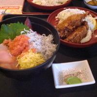 海鮮3色丼セット