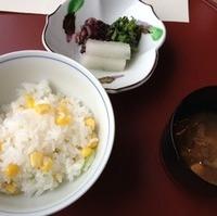 玉蜀黍御飯