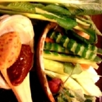 籠盛り野菜
