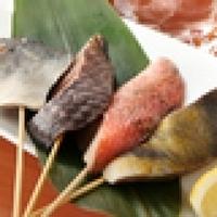 魚串4種盛り合わせ