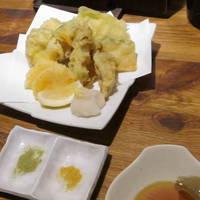 秋野菜天ぷら(3種の味で)