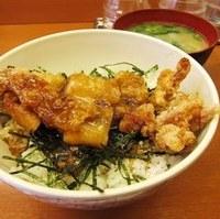若鶏竜田丼