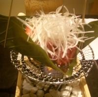 仙台牛の朴葉焼き