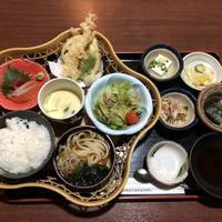 刺身天ぷら籠盛り御膳