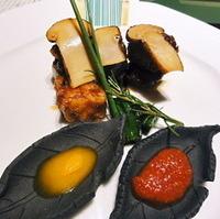 松茸と和牛ロースのすき焼きロール