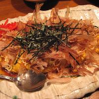 納豆と山芋のジャンボオムレツ
