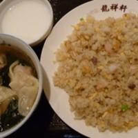 五目炒飯・ワンタンスープ