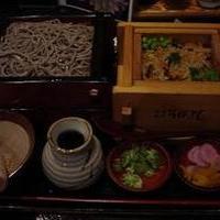 笊蕎麦 五目蒸篭飯セット