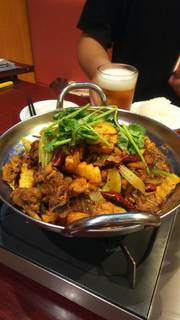 ピリ辛山椒鍋