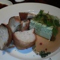 抹茶のチーズ豆腐