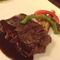 黒毛和牛のフィレ肉 鉄板焼き