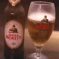 美味しいビールと料理 「モレッティ」 「牛肉のパローロ煮込み」