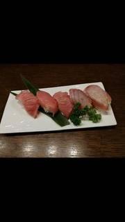 マグロ5種握り寿司