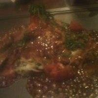 イベリコ豚とトマトのお好み焼