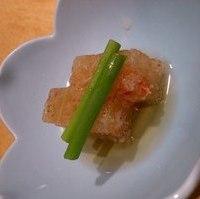 蟹の煮凝り