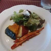 有機野菜の前菜