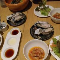 牡蠣の食べ放題コース(5980円)のコース牡蠣