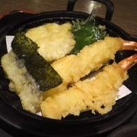 天ぷらうどんとネギトロ丼セット
