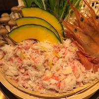 豪華蟹と海老の海鮮せいろ蒸し鍋~海の幸詰め合わせ~