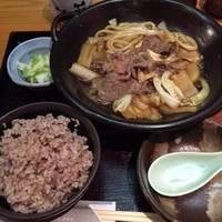 【人気】牛すき焼き鍋定食